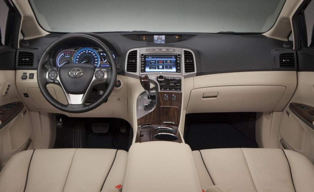 2014 Toyota Venza Limited interior