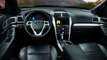 Ford Explored XLT 2014 interior