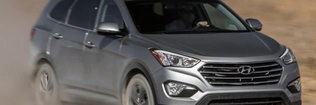 Hyundai Santa Fe Limited 2014 Review