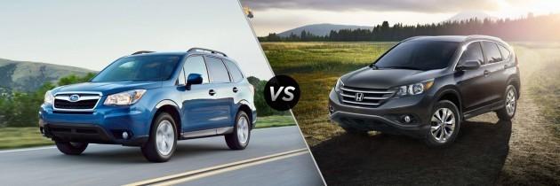 Honda CR-V 2014 Versus Subaru Forester 2014
