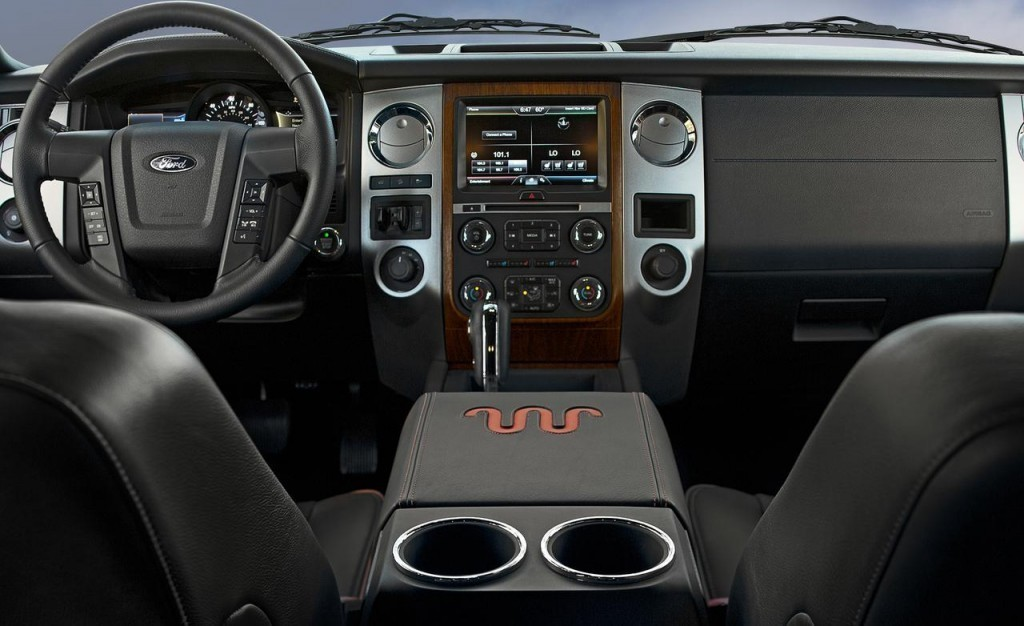 Ford Expedition EcoBoost 4WD 2015 interior