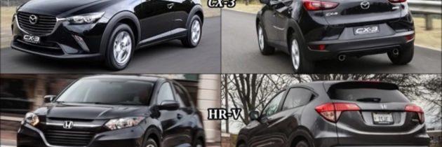 2017 Honda HR-V vs 2017 Mazda CX-3
